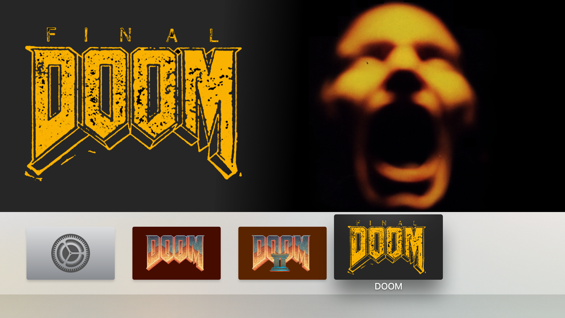 DOOM II and Final DOOM for iOS and tvOS – schnapple com